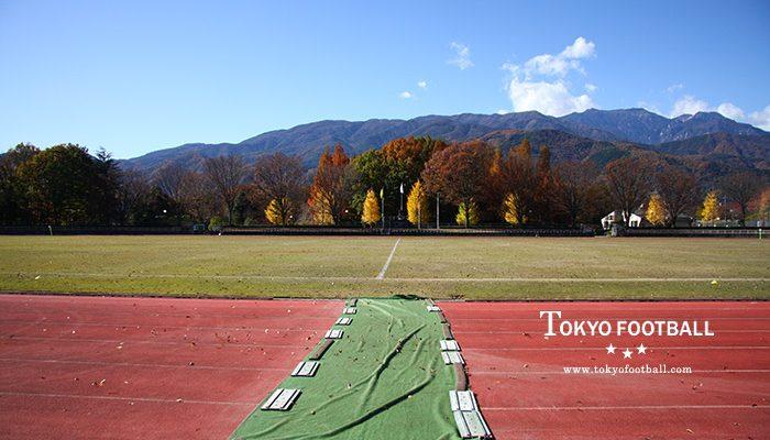 韮崎中央公園陸上競技場(山梨県)